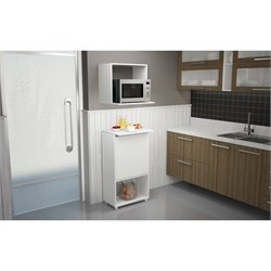 Manhattan Comfort Kallang Pantry in White