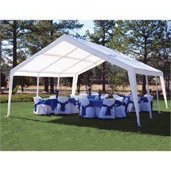 King Canopy 12' x 20' Expandable Canopy in White