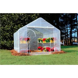 King Canopy 10' x 10' Greenhouse Canopy in White