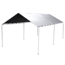 King Canopy 10' x 20' Shade King Canopy in Silver