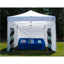 King Canopy 10' x 10' Tuff Tent Canopy with Walls in White