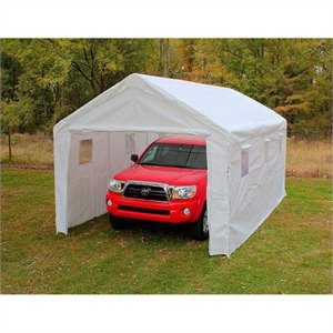 King Canopy 10' x 20' 8 Leg Universal Canopy in White
