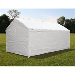 King Canopy 10' x 20' Hercules Enclosed Canopy in White
