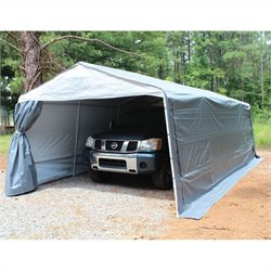 King Canopy 13' x 24' Storguard Garage in Silver
