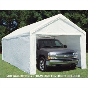 King Canopy 10' x 27' Canopy Sidewall Kit with Flaps