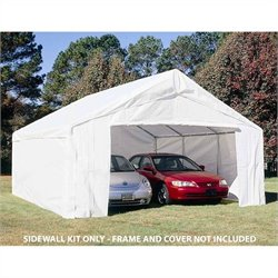 King Canopy 18' x 27' Sidewall Kit with Flaps