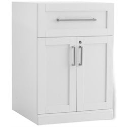 NewAge Home Bar 2 Door Cabinet in White