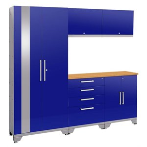 NewAge Performance 2.0 6 Piece Cabinet Set in Blue (A)