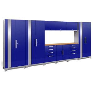 NewAge Performance 2.0 10 Piece Cabinet Set in Blue (B)