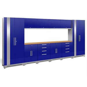 NewAge Performance 2.0 12 Piece Cabinet Set in Blue (A)