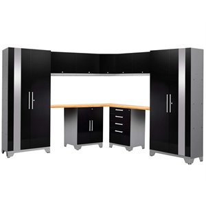 NewAge Performance 2.0 12 Piece Cabinet Set in Black (D)