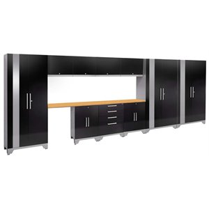 NewAge Performance 2.0 12 Piece Cabinet Set in Black (C)