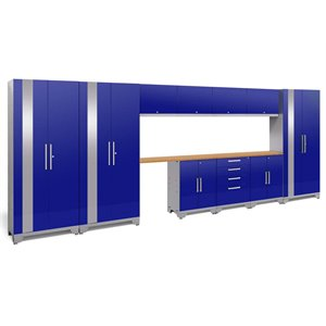 NewAge Performance 2.0 12 Piece Cabinet Set in Blue (C)