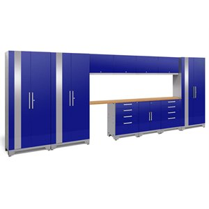 NewAge Performance 2.0 12 Piece Cabinet Set in Blue (B)