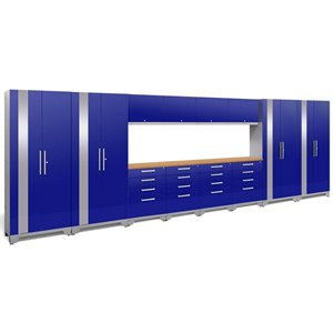 NewAge Performance 2.0 14 Piece Cabinet Set in Blue (B)