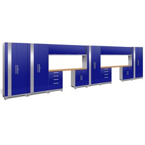 NewAge Performance 2.0 16 Piece Cabinet Set in Blue (A)