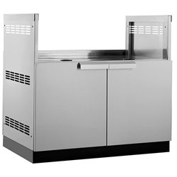 NewAge Outdoor Kitchen Insert Grill Cabinet in Stainless Steel