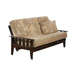 Night and Day Kingston Wood Full Futon Frame in Chocolate