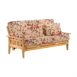 Night and Day Kingston Wood Full Futon Frame in Natural