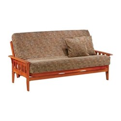 Night and Day Kingston Wood Full Futon Frame in Teak
