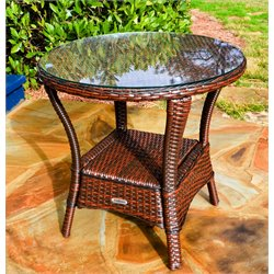 Tortuga Lexington Outdoor End Table in Java
