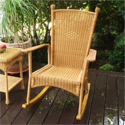 Tortuga Portside Rocking Chair in Amber
