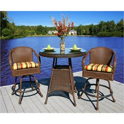 Tortuga Lexington 3 Piece Pub Set