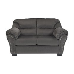 Ashley Kinlock Loveseat in Charcoal