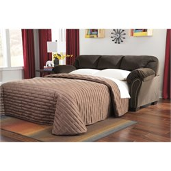 Ashley Kinlock Full Sleeper Sofa in Chocolate