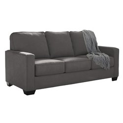 Ashley Zeb Full Sleeper Sofa in Charcoal