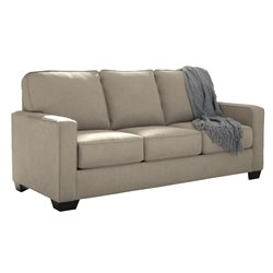 Ashley Zeb Full Sleeper Sofa in Quartz