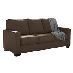 Ashley Zeb Full Sleeper Sofa in Espresso