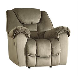 Ashley Jodoca Rocker Recliner in Driftwood
