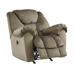 Ashley Jodoca Power Rocker Recliner in Driftwood
