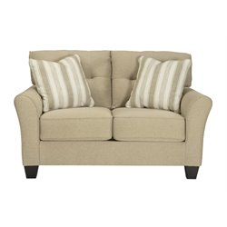 Ashley Laryn Loveseat in Khaki
