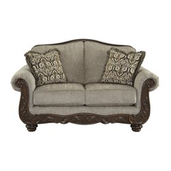 Ashley Cecilyn Loveseat in Cocoa