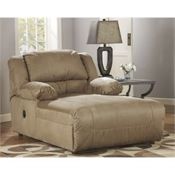 Ashley Hogan Press Back Chaise in Mocha
