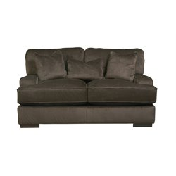 Ashley Bisenti Loveseat in Chocolate
