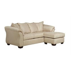 Ashley Darcy Sofa Chaise in Stone