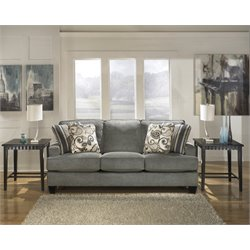 Ashley Yvette Sofa in Steel