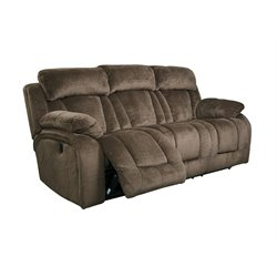 Ashley Stricklin Reclining Sofa in Chocolate