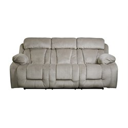 Ashley Stricklin Reclining Sofa in Pebble