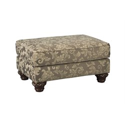 Ashley Irwindale Ottoman in Topaz
