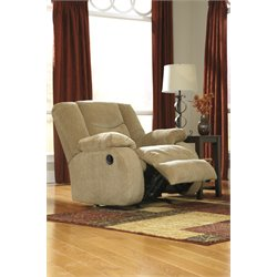 Ashley Garek Rocker Recliner in Sand