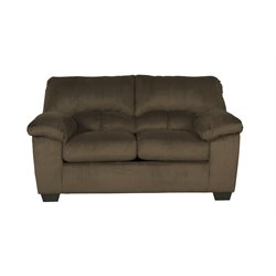Ashley Dailey Loveseat in Chocolate