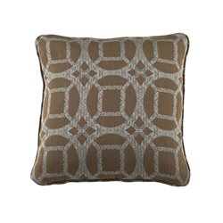 Ashley Caslynne Throw Pillow in Blue