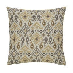 Ashley Damarion Throw Pillow in Taupe (Set of 4)