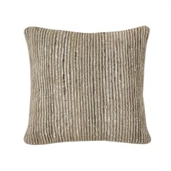 Ashley Avari Throw Pillow in Tan and Taupe