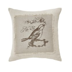 Ashley Ashling Throw Pillow in Brown and Cream