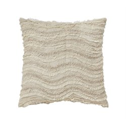 Ashley Arata Throw Pillow in Cream